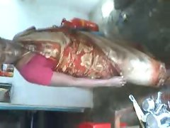 SATIN SILK AUNTY