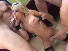 Xxl huge cocks spray all over this randy light-haired young lady