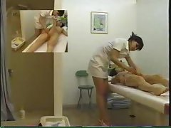 Dripping sensuous massage with Jap lady