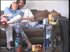 Home video of oral sex with lewd couple