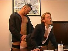 An office fuck clip with two episodes