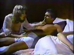 Daughter grinded by dad as mum sleeps
