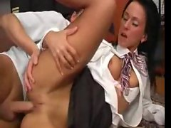 Stewardess banged by pilot in office