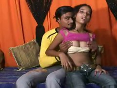 Randy indian couple trying out bum horny