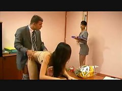 Secretary vixens love having sex with the boss