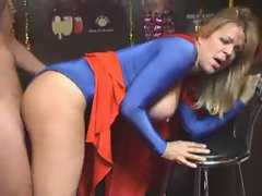 English slutty girl in spandex outfit banged brutal