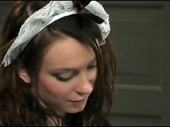 French maid banged is great filthy and banging rough