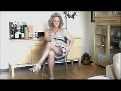 Granny actresses her sexual stockings