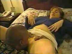 Ebony man bangs his heavy dirty wife