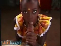Black Caribiean girl used for sex