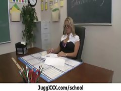 Enormous melons at school - Explicit great sex 33