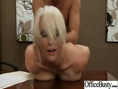 Office Nympho Lass Riding Strong throbbing cock clip-20