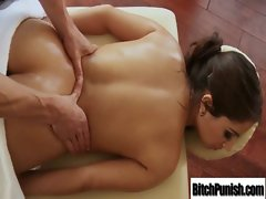 Chesty Babe Get Screwed Brutal By Masseur clip-23