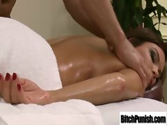 Top heavy Girlie Get Banged Rough By Masseur clip-12