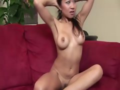 Sexual masseuse lass stripping and posing