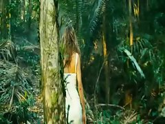Vera Brezhneva Filthy Cleavage In Jungle
