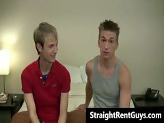Hetero hunks go gay for cold wild cash gay video