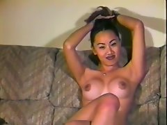 Amateur Asian in casting couch sequence