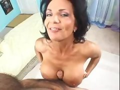 Deauxma sits on the rough boner