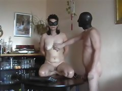 Amateur couple find enjoyment in kinky rubber toy play