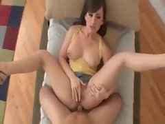 Point of view both holes sex with Jennifer White