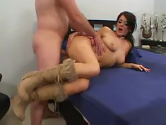 Raunchy fuck bitch Sophie Dee boned