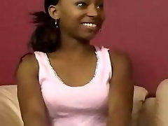 Lewd Ghetto Nympho Using Vibrating sex toy And Screwed