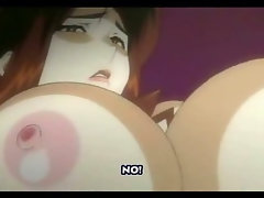 Anime Futanari Jizzes on Girl!