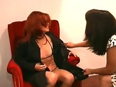 Great alluring lesbo dirty ass stroking play