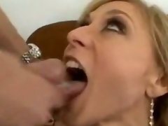 Nina Hartley swallows a nice load