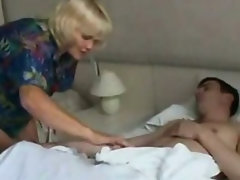 Lewd mother drilled by her son