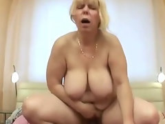 Plumper tempting blonde experienced