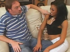 Angelina needed several cock so she called Obscene D. Hell Obscene D calls his crew of fellows over