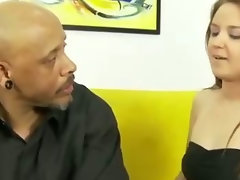 Step daughter gets sensual for step daddy