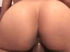 Cool Lustful ebony Gal Backside And Twat Riding