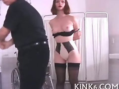 Dripping while clapping her sexy fanny
