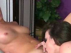 Randy raunchy masseuse gets client off