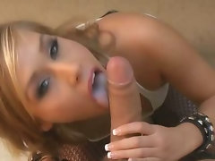 Kennedy Leigh Deepthroats and Rides Pecker