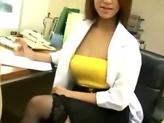Seductive japanese nurse seductive russian and cumshot act