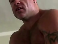 Watch straight hunk turn gay