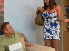 Big Titty Ava Devine Bum Screwed