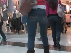 Latina Filthy bitch n Not Her Seductive teen Daughter Christmas Shopping