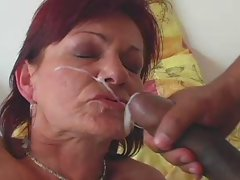 GRANNY AWARD 1 redhead attractive mature with a 18yo man