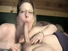 Cheating wife amazing Cock sucking on neighbor