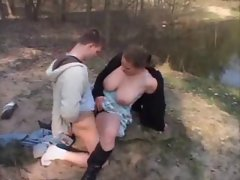 18yo Banging Chesty Outdoor By TROC