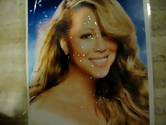 Mariah Carey Xmas Facial