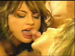 Excellent retro cumshot (FFM)
