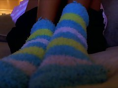 Fuzzy socks Point of view