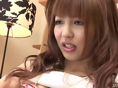 Raunchy Kotone Aisaki Purrs as Her Nipples are Caressed