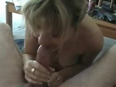 Amateur Slutty wife Strokes Shaft And Home Sex